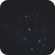M45 Seven sisters Pleiades only 1 shot 120 s / Canon 600D+SW 80 ED / EQM-35,                                patrick cartou