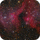 IC1871 Whirling Dervish in Soul Nebula - RGB,                                Jerry Macon