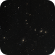 "Markarian's ""Ball & Chain"" - mosaic galactic delight,                                Barry Wilson"
