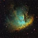 NGC 281 Narrowband,                                Wembley2000