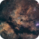 IC1318 hubble colors,                                Станция Албирео