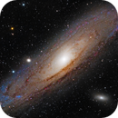 M31 Andromeda Galaxy - First light from city center,                                Eddy9000