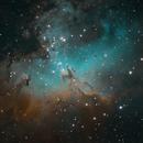 M16 Eagle Nebula SHO,                                Greg Harp