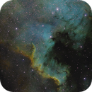 North American Nebula Narrowband,                                Andrew Barton