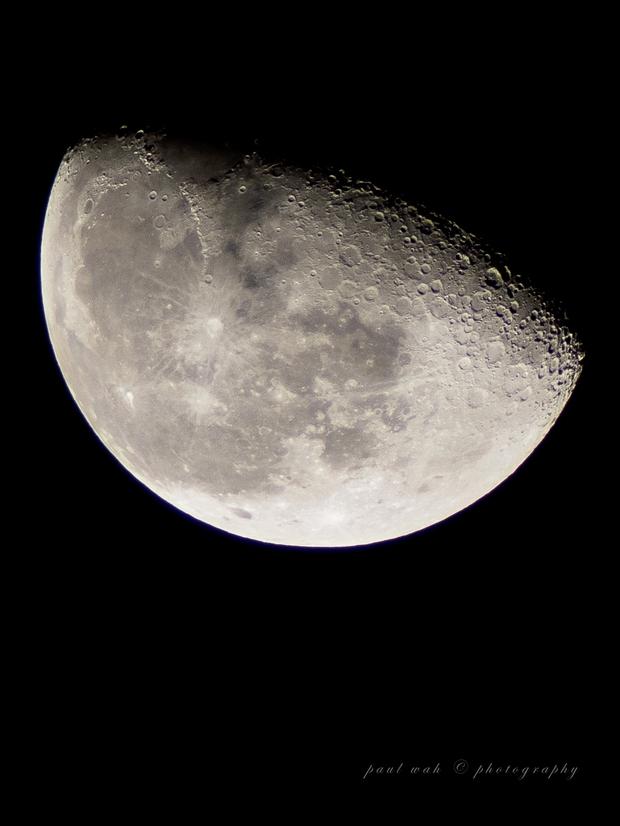 Lunar Imaging,                                Paul Wah