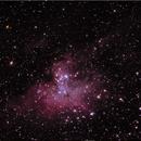 The Eagle Nebula,                                krackerjuice