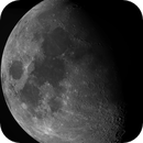 Moon Mosaic (71% illuminated),                                rhedden