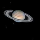 Saturn with 5 moons,                                Lucca Schwingel Viola