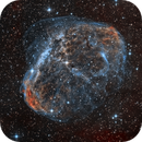 The Crescent Nebula in HOO (2020 Version),                                Alex Roberts