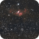 ngc 7635 - 10 hours exposure taken on July 2016,                                Stefano Ciapetti
