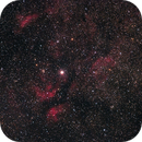 IC 1318 and NGC 6888,                                Hans van Overzee