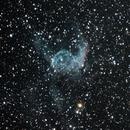 NGC 2359 Thor's Helmet  Initial Old DSLR Data,                                Brandon Tackett