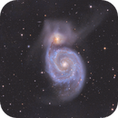 M51 Galaxy,                                Sascha Schueller