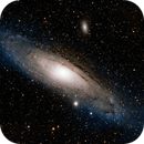 M31 Andromeda Galaxy in HaLRGB with Esprit 80 / ASI1600MM / MyT,                                Rowland Archer