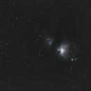 Orion, Flame and Horsehead nebula,                                Martijn