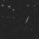 Knife Edge Galaxy - NGC 5907 LRGB,                                Phil Brewer