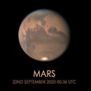 Mars 22/09/2020,                                Tristan Campbell
