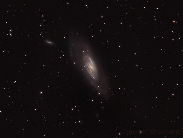 Messier 106,                                Hermann Schieder