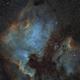 NGC7000  EF200 f/2.8  /  ATIK ONE  /  EQ3-2 (unguided !),                                Pulsar59