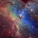 M16: Eagle Nebula (SHO),                                Chris Sullivan