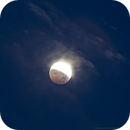 Lunar Eclipse 4/4/2015 at 5:58 PDT,                                Tom Masterson