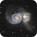 M51 Whirlpool galaxy NY version,                                marsbymars