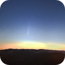 Comet Neowise over Montsant mountains,                                Manel Martín Folch