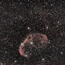 NGC 6888 -- CRESCENT NEBULA,                                Omar Carlino