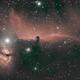 Horsehead - Flame Nebula,                                Ron Hunt