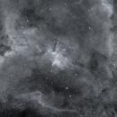 The Heart Nebula in HA,                                Wes Higgins