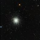 M13  - NGC 6205 - Hercules Globular Cluster,                                Allen Koenig
