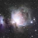 M42 Orion Nebula and Running Man Nebula,                                Michael Thompson