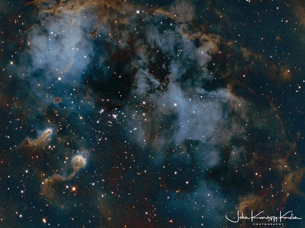 IC410 - The Tadpole Nebula,                                John Kulin