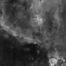 Heart and fish head nebula - Ha,                                Stephan Reinhold