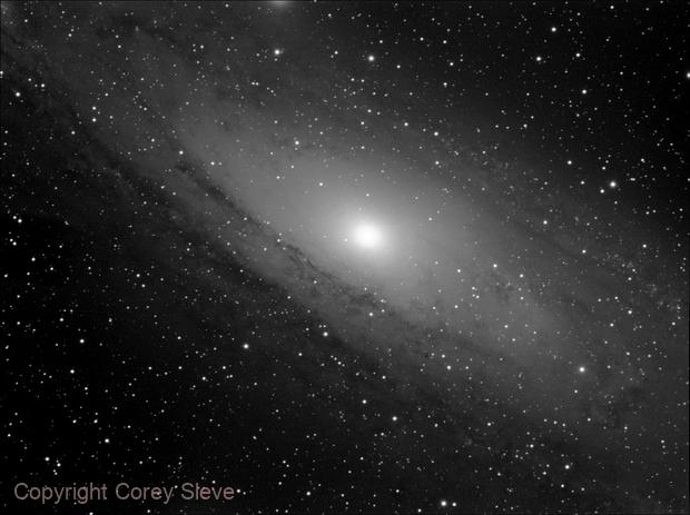 M31 Andromeda Galaxy,                                Corey Sleve