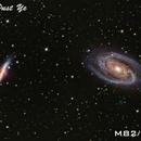 M81/M82 galaxies,                                Ye Huachen