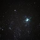 NGC 2070 - Nebulosa da Tarântula,                                bbonic