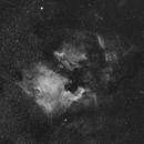 NGC 7000 North America Nebula - IC 5070 Pelican Nebula,                                xs4allan
