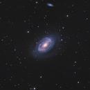 NGC4725 LRGB+Ha,                                Christopher Gomez