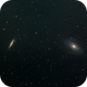 M81 and M82 During Full Moon,                                fyrfytr310