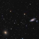 M90 M89 Wide Field,                                Jim Thommes