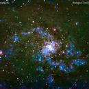 m33 galassia nel triangolo                                                 distanza 2 milioni 900 mila  A.L.,                                Carlo Colombo