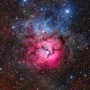 M20 Trifid Nebula,                                Darkskywalker