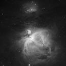 M42, M43 & NGC 1977 in Ha,                                Tim Jardine