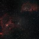 IC 1848 IC 1871 Heart and soul nebula,                                Marco Henrich