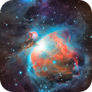 M 42 - First Orion Nebula of the season,                                Skywalker83