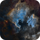 NGC7000 and surroundings on widefield HST (Mosaic 3x3),                                Jose Carballada