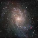 M-33 Triangulum Galaxy,                                Francois Theriault
