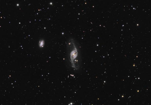 NGC 3718 in Ursa Major,                                Maciej