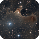 A Galactic Ghost,                                KuriousGeorge